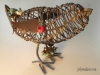Embellished Wire Bird